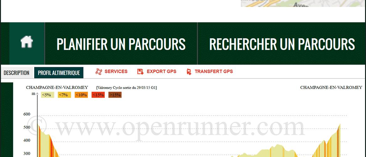 openrunner planifier