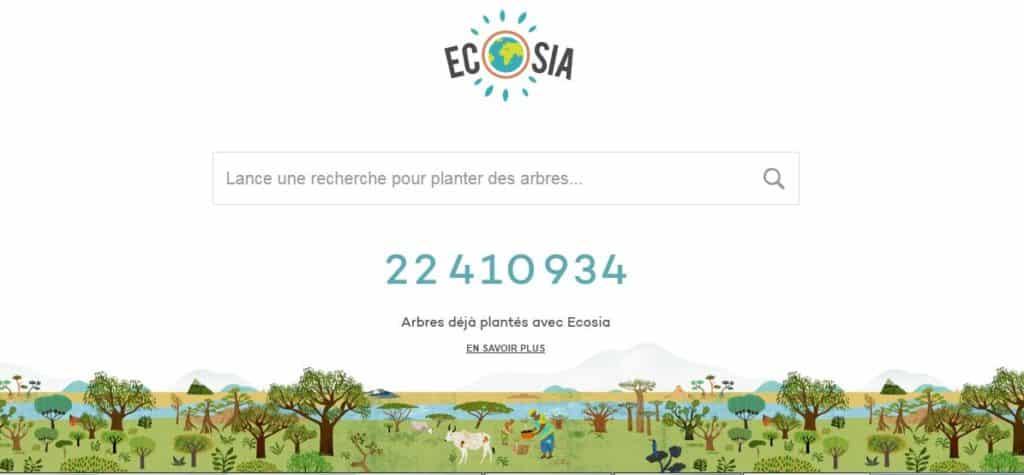 Ecosia, Ecogine, Lilo… les moteurs de recherches solidaires!