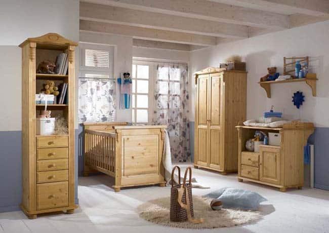 Aménager chambre d'enfant sur mesure en bois