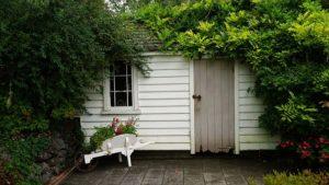 abri de jardin pvc