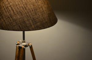 lampadaires en bois